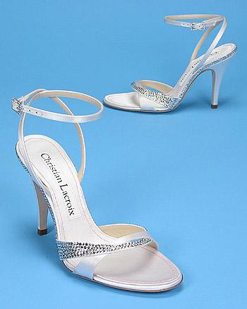 Sandalias para novia 2008 de Christian Lacroix