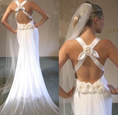 vestidos de novia. Vestidos de novia con espalda