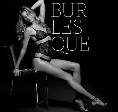 Lencería sexy de Giselle Bundchen Burlesque