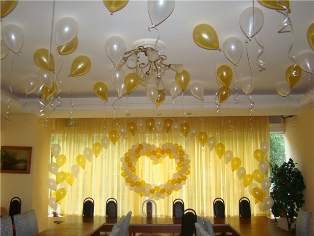 Decoraci n de bodas con globos table decoration at - Arreglos de globos para boda ...