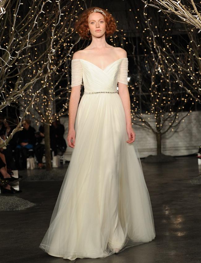 Vestidos de novia elegantes de Jenny Packham otoño 2014