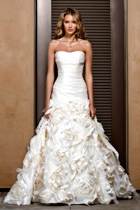Ropa para mujer: Vestidos de novia primavera 2011 de Jenny Lee