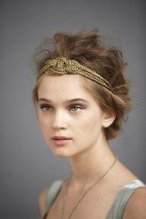 Complementos para novias otoño 2013  2014 dorados