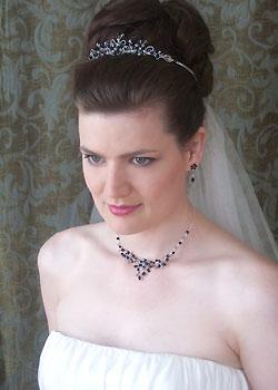 Tiaras y joyas para novia