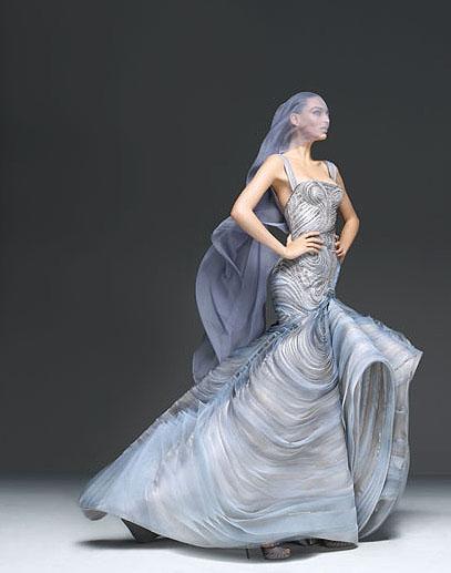 Vestidos largos y cortos de fiesta | Versace primavera verano 2009 :  vestidos fiesta versace
