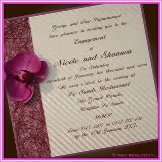 Invitaciones de boda verano 2011
