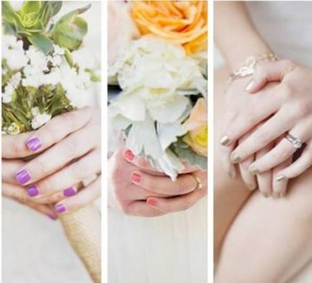 uñas para novias