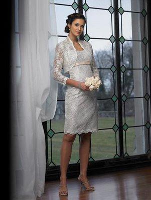 Vestidos de novia cortos - Boda Hoy
